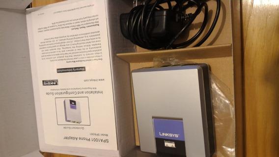 Adaptador Linksys Spa1001 Sipura Igual Q Nuevo Completo