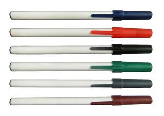 Boligrafos Con Capuchon Lisos X 1000 Unidades