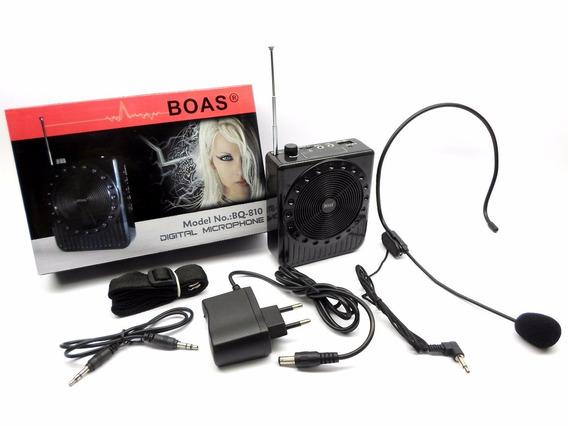 Amplificador De Voz - Palestras - Boas Bq810 Super Promoção