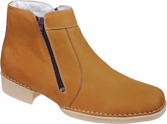 Bota Botina Masculina Confortável Macia Capelli Boots
