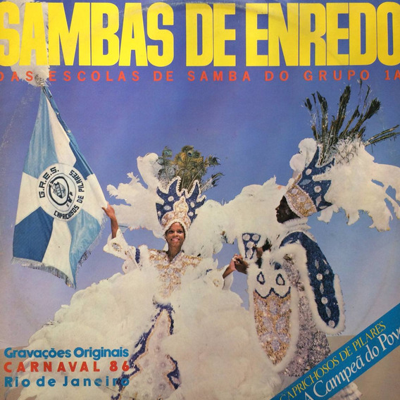 Lp Sambas De Enredo Das Escolas De Samba Do Grupo 1a