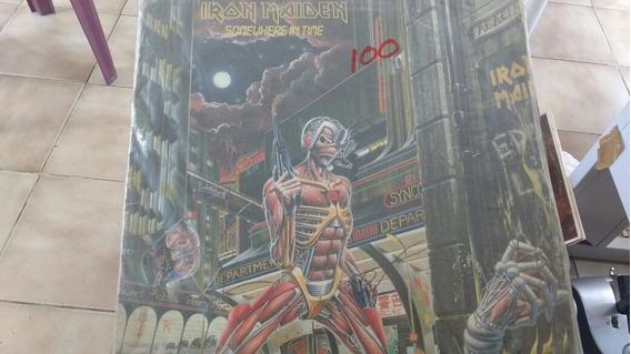 Disco De Vinil- Iron Maiden Somewhere In Time