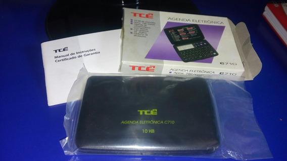 Agenda Eletrônica Tce C710 - Raridade Anos 90 - Novíssima!