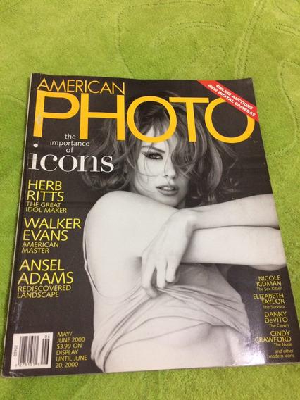 Revista Photo Nicole K Madonna Cindy Crawford Marilyn M Nort