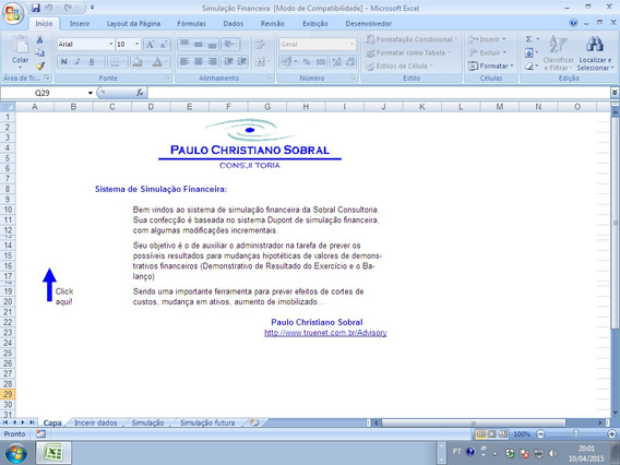 Sistema De Simulação Financeira-com Direito De Revenda
