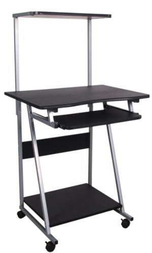 Mesa Para Computadora 3 Niveles Color Marrón