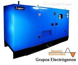 Generador De Electricidad120 Kva Logus 125 Br Silent