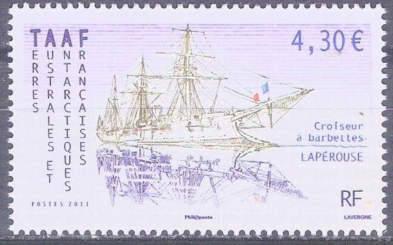 C@- Francia - Antartida - Barcos - Mint