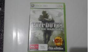 Call Of Duty 4 Modern Warfare Pal/ntsc Mídia Física Original