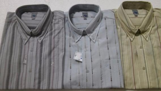 Camisas Manga Larga Estampadas