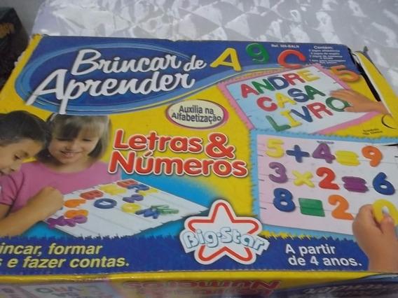 Jogo Brincar De Aprender