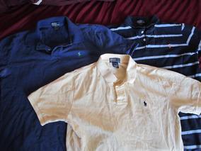 Camisetas Marca Polo Talla Xl 18-20 Miden Lar 64 Anch 44 Cms