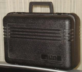 Jvc Cb-v35u Maletin Rigido Material Sintetico Optimo Estado