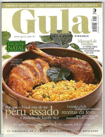 Revista Gula 166 A 169 - Peru De Natal & Outros