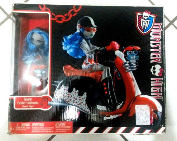 Promoção Monster High Ghoulia Scooter