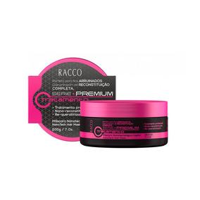 Máscara Nanotecnológica Capilar Serie Premium Racco