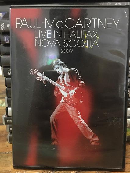 Dvd Paul Mccartney - Live In Halifax Nova Scotia