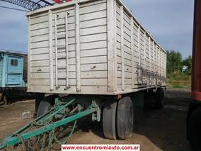 Acoplado Montenegro S/gomas 860 Permuto Financio Francorm