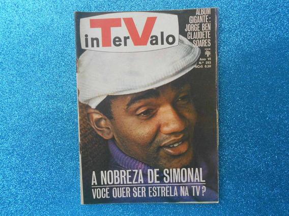 Revista Intervalo Nº293 Ano Vi 1968