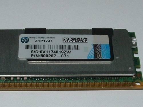 4 Memorias Servidor 16gb Pc3-10600r Ddr3-1333 Hp Dell Ecc