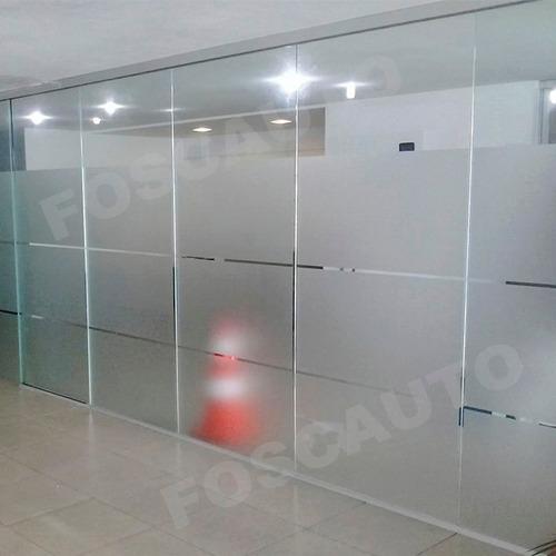 Adesivo Jateado Box Banheiro Janelas Portas Vidros 2m X 1m