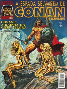Conan Revista Gibi Espada Selvagem - Hq Digital!