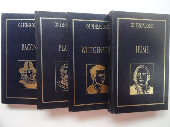 Coleção Os Pensadores - Diversos Vol A Escolher - Novos Lacr