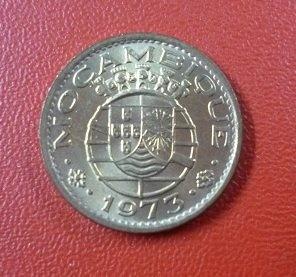 Mozambique Moneda 20 Centavos 1973