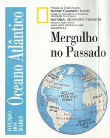 815 Rvt- 1976 Mapa National Geographic- Oceano Atlântico