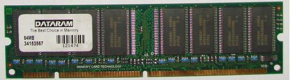Memoria Ram Dimm 64 Mb