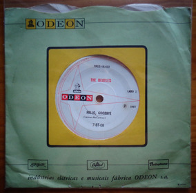 The Beatles Compacto Vinil Nacional Hello Goodbye 1967 Mono
