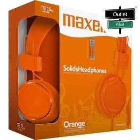 Outletfacil - Headphone Com Microfone Maxell Over The Ear