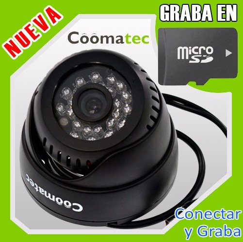 Camara De Vigilancia [graba En Microsd] Mod. S802hb