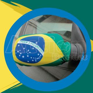 Capa Para Retrovisor Brasil - Par