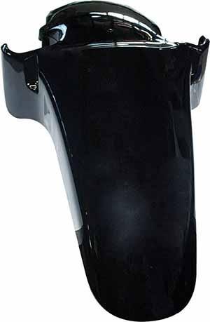 Paralama Dianteiro Cbx250 0308 Pret Honda Ff