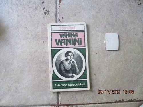 Vanina Vanini - Stendhal - Coleccion Aves Del Arca