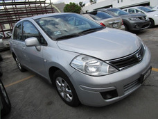 Nissan Tiida 2011 Plateado Version Custom