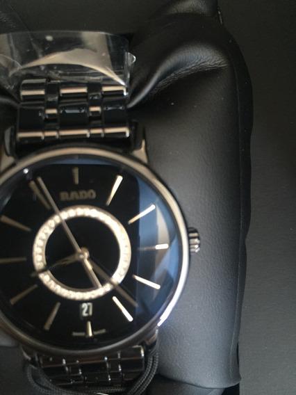 Relógio Rado Novo Com Diamantes - Cerâmica Hightech