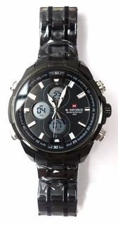Relógio De Pulso Naviforce Nf9049m + Frete Grátis