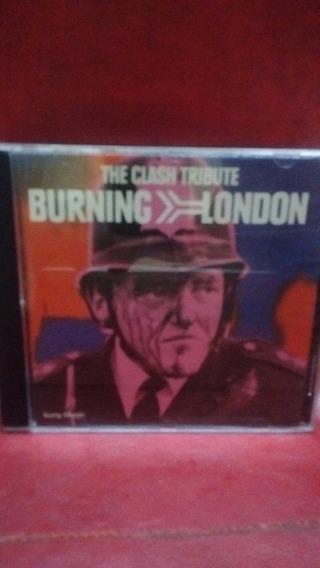 The Clash Tribute-burning London
