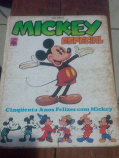 Mickey Especial - Cinqüenta Anos Felizes Com Mickey Revista