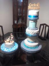Tortas Decoradas, Cupcakes, Gelatinas Y Mesa De Dulces