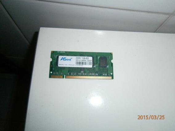 Memoria Ram 1gb Ddr2 Para Netbook Notebook En Belgrano