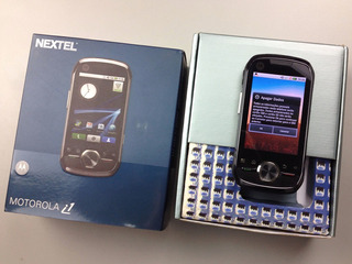 Celular Motorola I1 Android Câmera 5mp Linha Iden Nextel