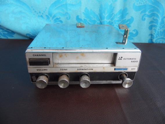 Antigo Aparelho Tape Som Automotivo Automatic Radio