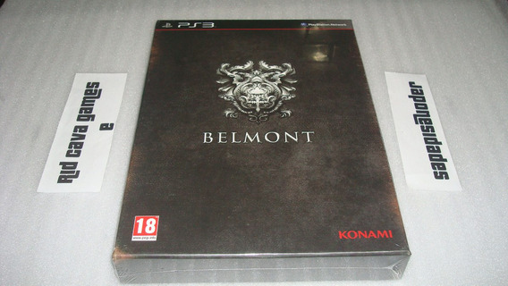 Castlevania Lords Of Shadow 2 Belmont Special Edition Ps3