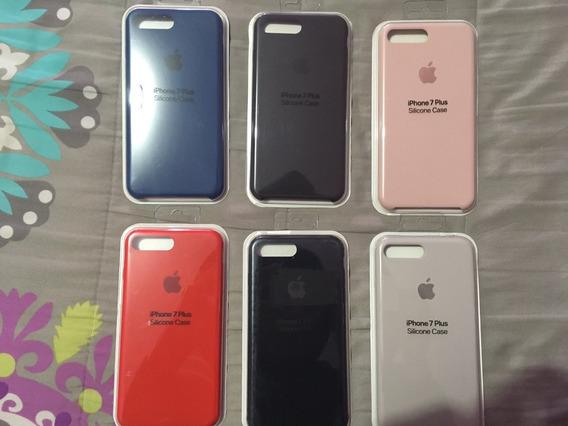 Funda Original Apple Silicone Case iPhone 7 Y 8 Plus (5.5)