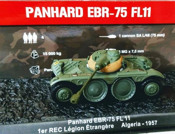 Min 1/72 Blindado Francês S/ Rodas Panhard Ebr75 (altaya)