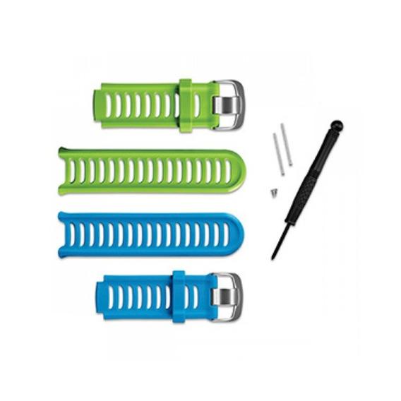 Kit De Pulseiras Garmin Forerunner 910xt Azul E Verde