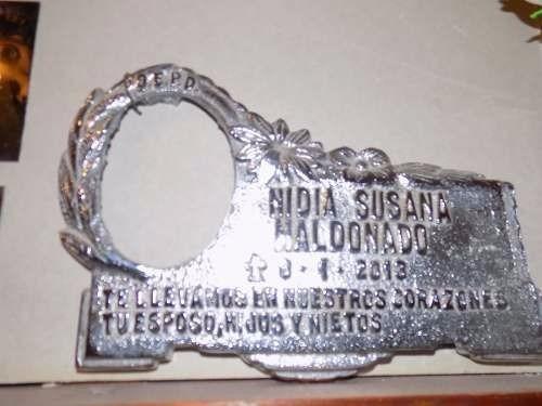 Foto Y Placa Para Cementerio